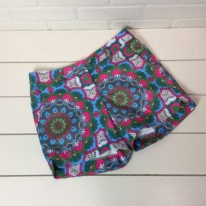 Jade by Melody Tam Graphic Floral Shorts